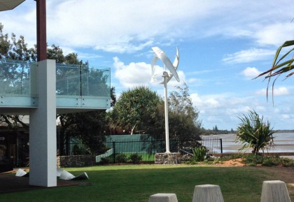 UGE Wind turbine Beachmere