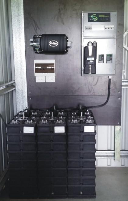 Off Grid  - Aquion Saltwater Batteries